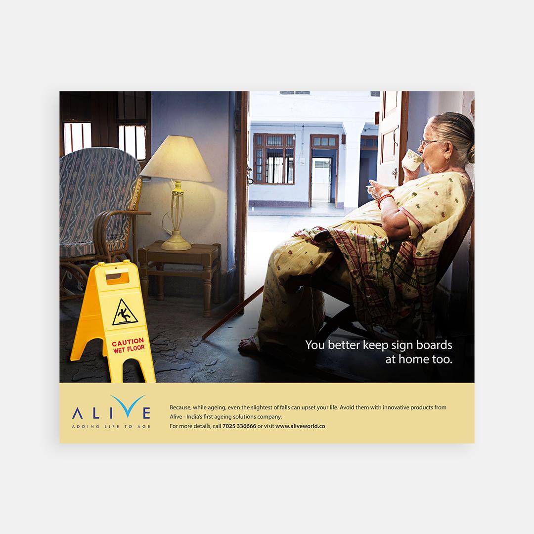 Alive – Print ad (4)