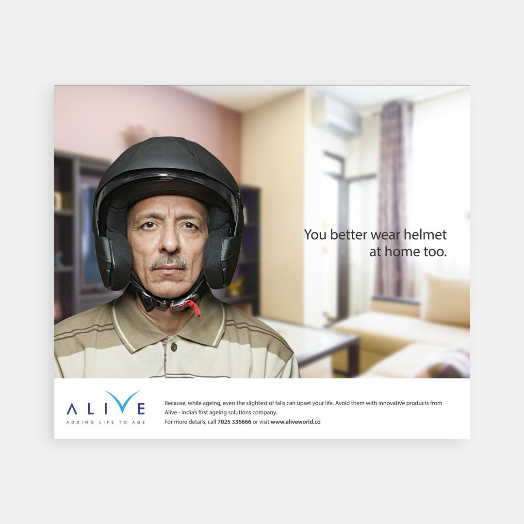 Alive – Print ad