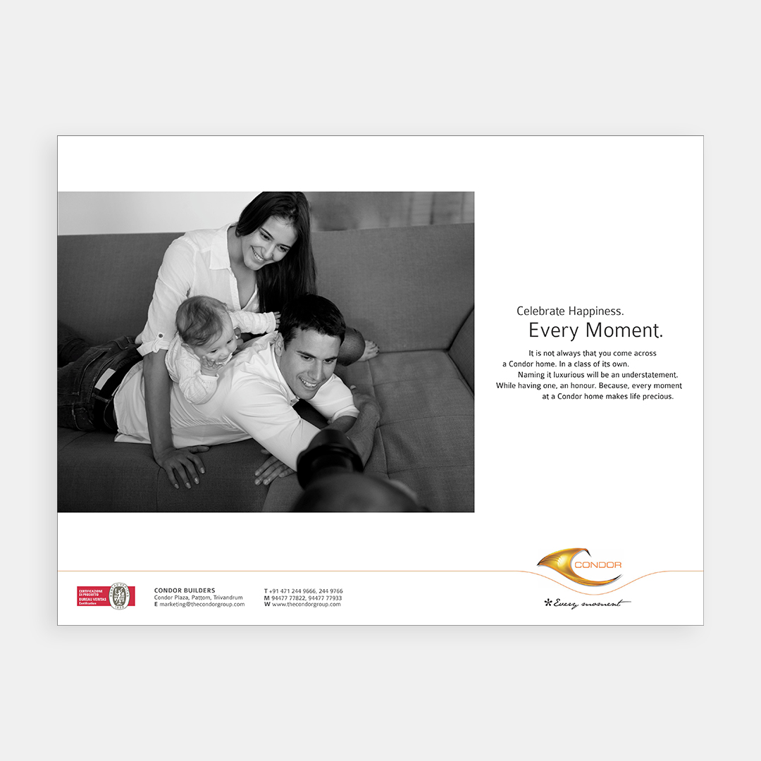 Condor Builders – Print Campaign 2