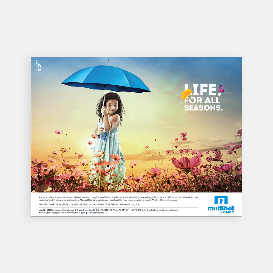 Muthoot Homez – Print Campaign 1